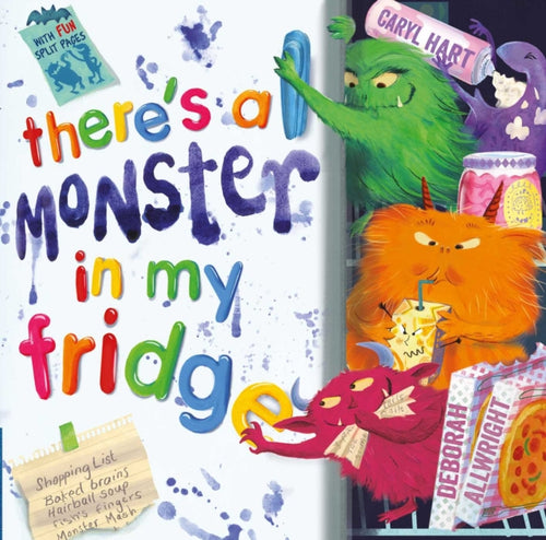 There's a Monster in My Fridge-9780857076137