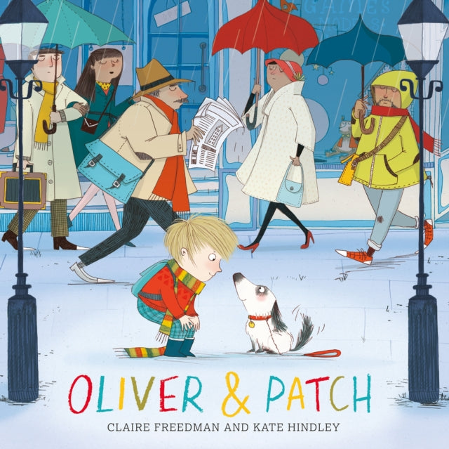 Oliver and Patch-9780857079541