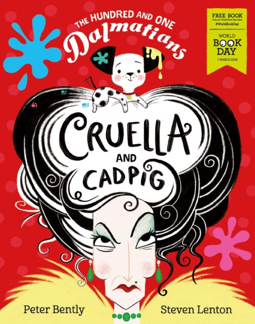 The Hundred and One Dalmatians: Cruella and Cadpig - World Book Day 2019-9781405294379