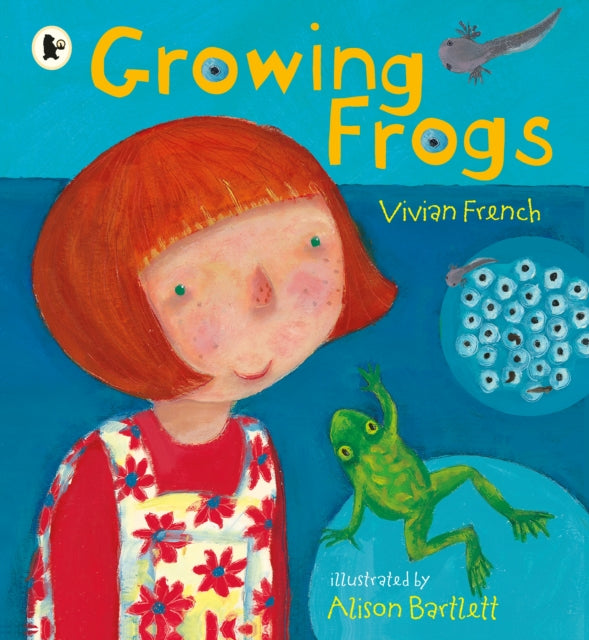 Growing Frogs-9781406364651