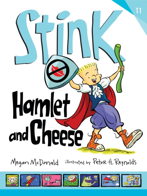 Stink: Hamlet and Cheese-9781406379303