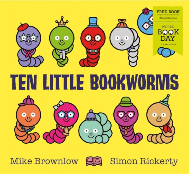 Ten Little Bookworms : World Book Day 2019-9781408357989