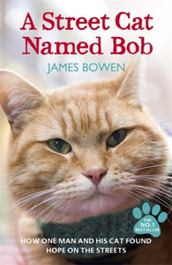 A Street Cat Named Bob : How one man and his cat found hope on the streets-9781444737110