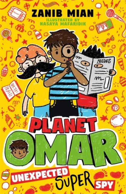 Planet Omar: Unexpected Super Spy : Book 2-9781444951271