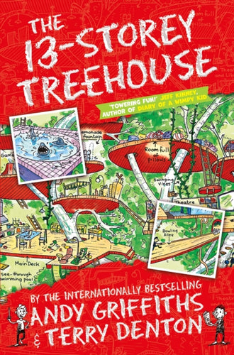 The 13-Storey Treehouse-9781447279785