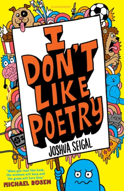 I Don't Like Poetry-9781472930033