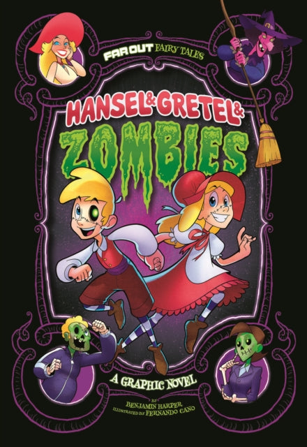 Hansel & Gretel & Zombies : A Graphic Novel-9781474710299