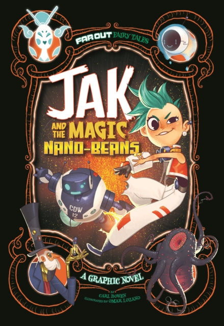 Jak and the Magic Nano-beans : A Graphic Novel-9781474710305