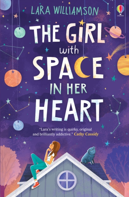 The Girl with Space in Her Heart-9781474921312