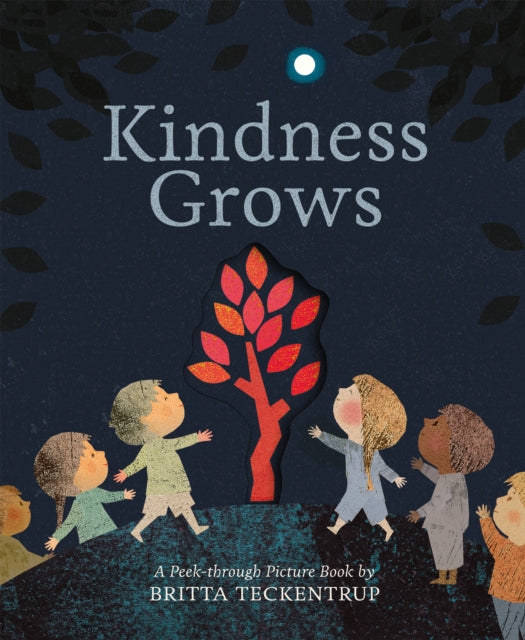 Kindness Grows : A Peek-through Picture Book by Britta Teckentrup-9781848578777