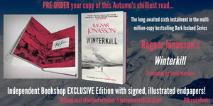 Winter Kill - Ltd Edtn Signed Endpapers