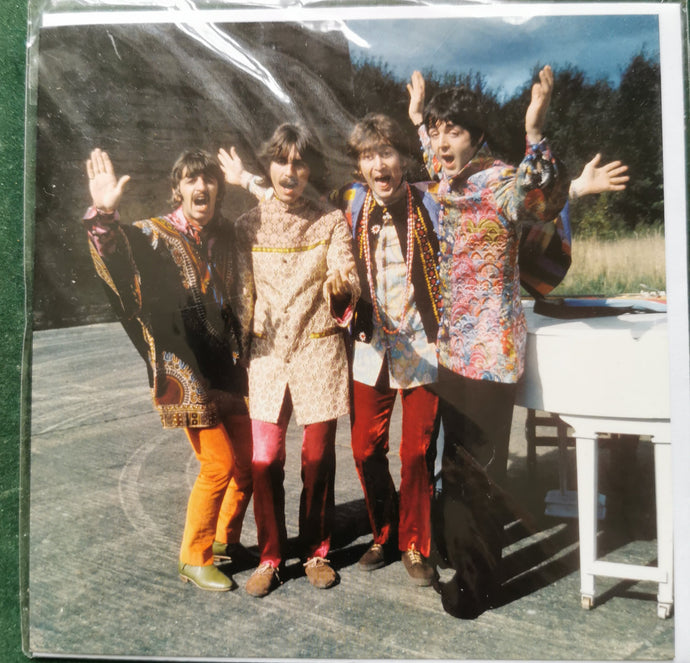 The Beatles - Filming Mystery Tour 1967 - Blank Greetings card