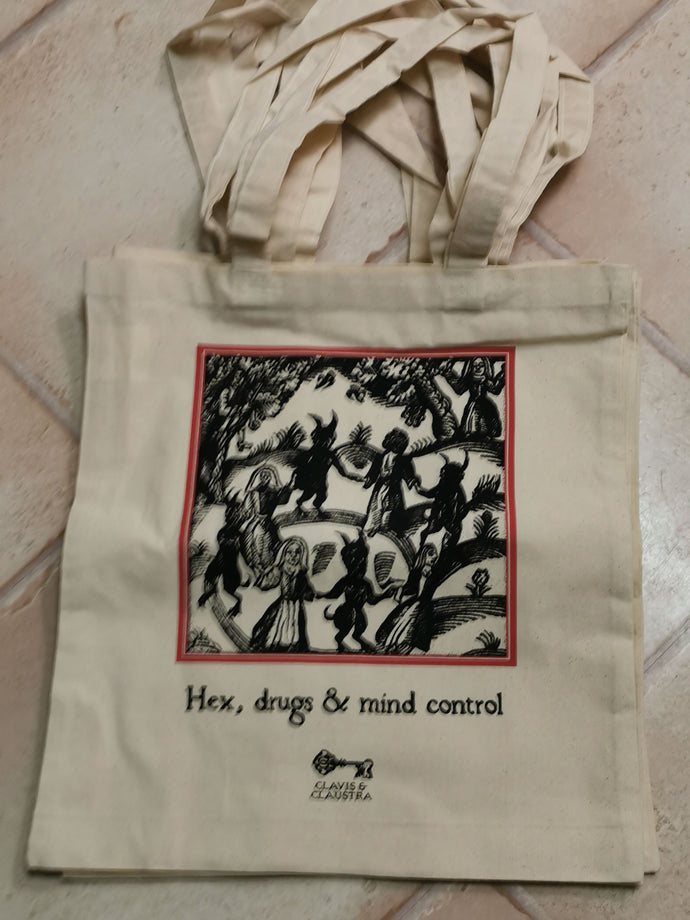Hex, drugs and mind control - Tote bag