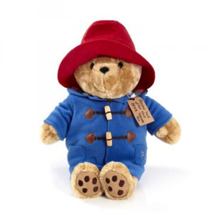 Paddington with scarf toy