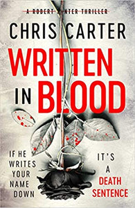 Written in Blood - signed due 23rd July
