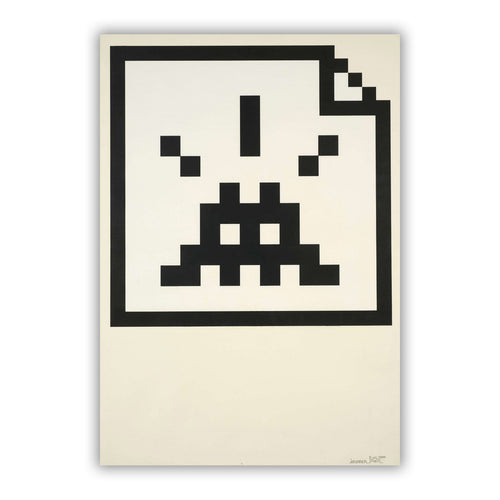 Invader - Space file (black edition) - 2006