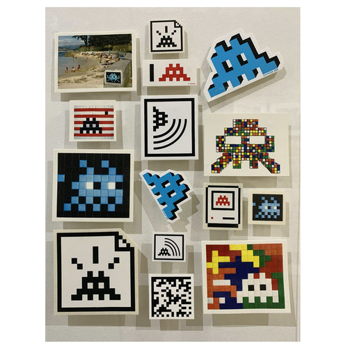 Invader - Set of stickers #2