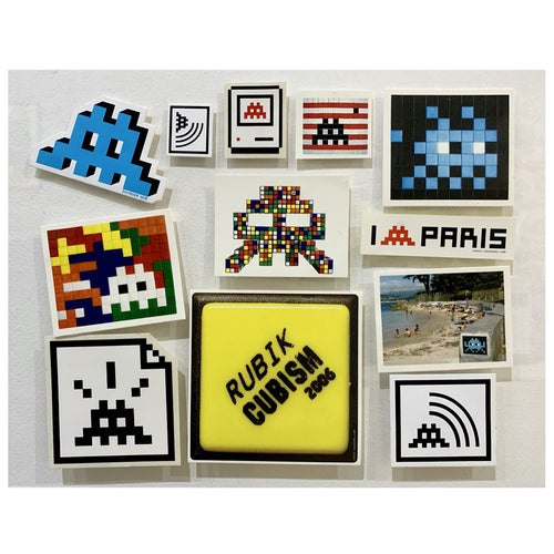 Invader - Set of stickers #3