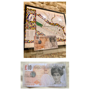 Banksy - Di-Faced Tenner - 2004