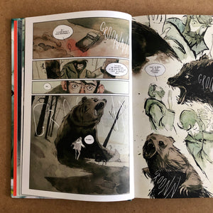 Vincenzo Balzano - Clinton Road - planche originale 12