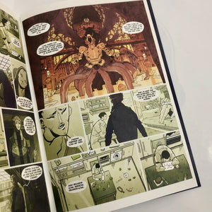Mathieu Bablet - Midnight Tales volume 4 page originale 3