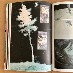 Vincenzo Balzano - Clinton Road - planche originale 90