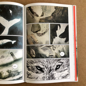 Vincenzo Balzano - Clinton Road - planche originale 95