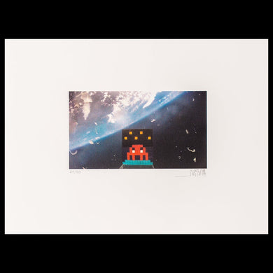Invader - Art4Space (2013)