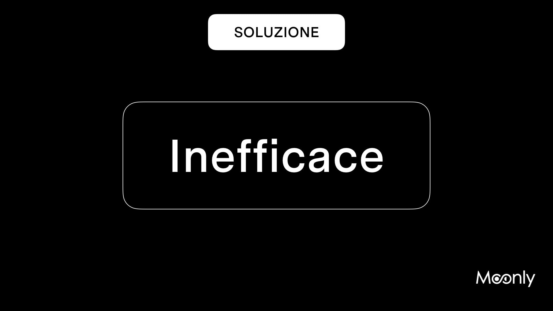 Learning experience inefficace