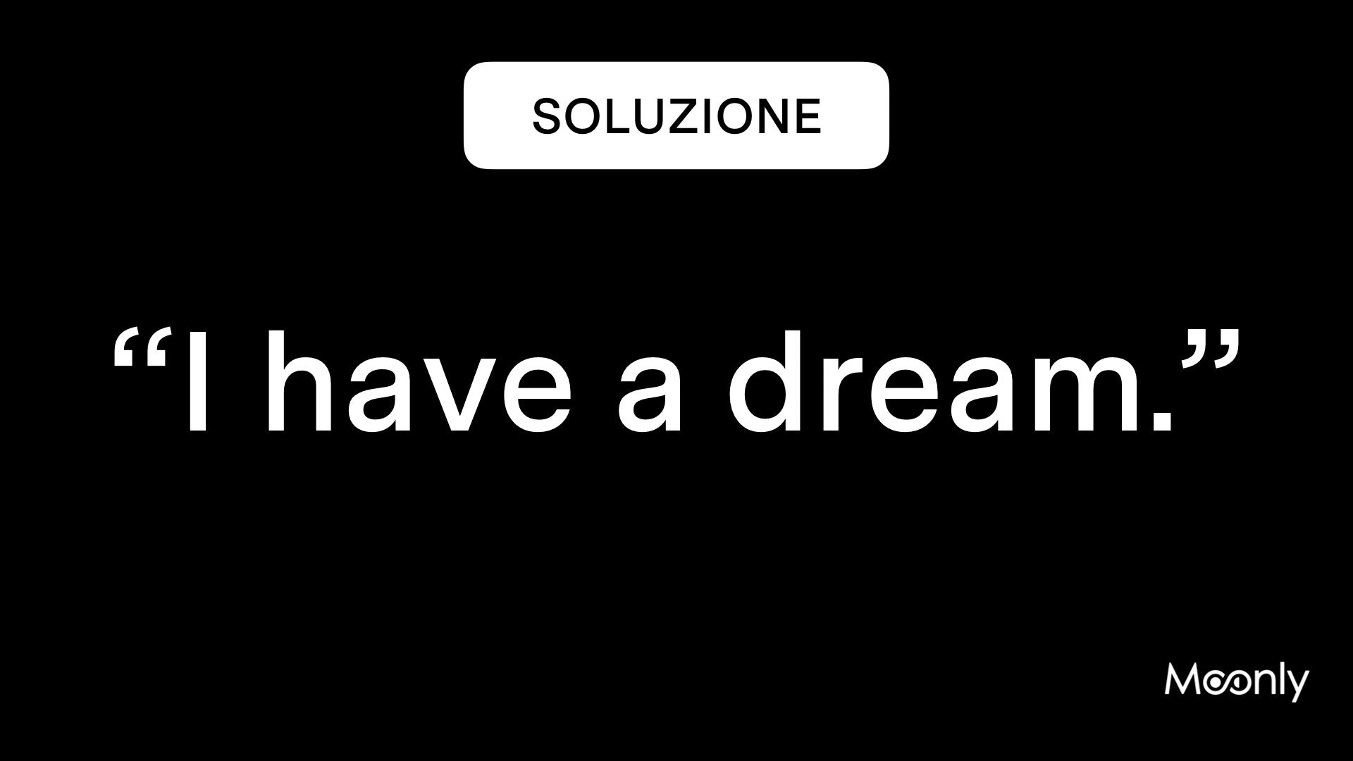 Frase I Have a Dream