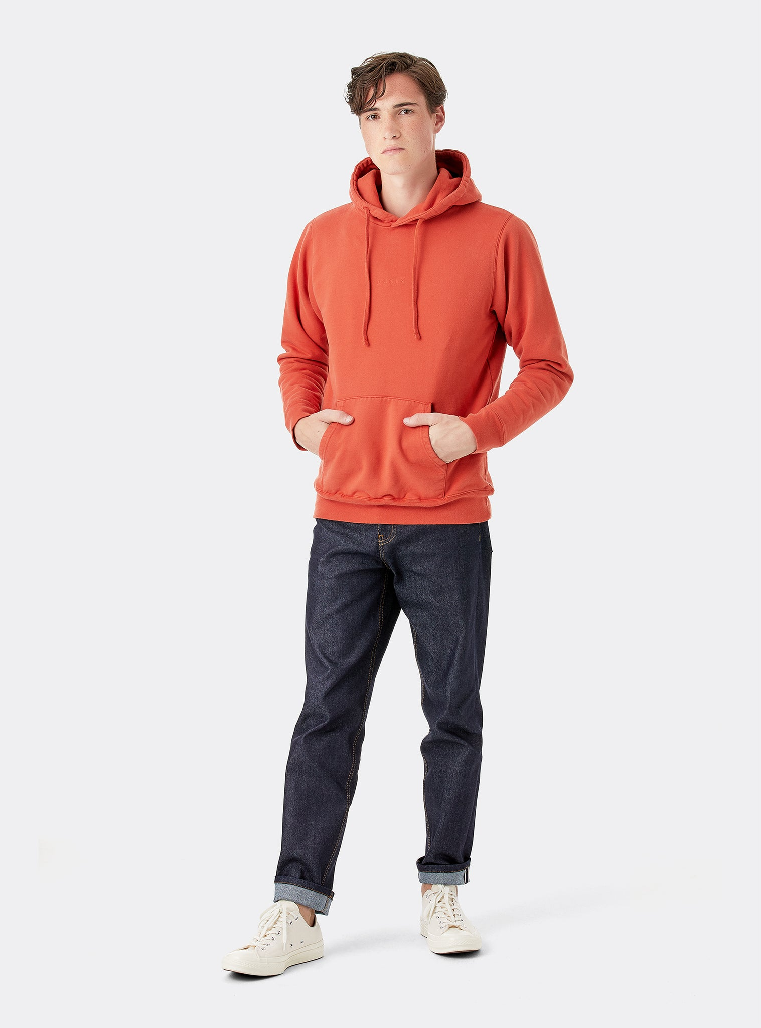 Timeless Sweat Hoodie Orange