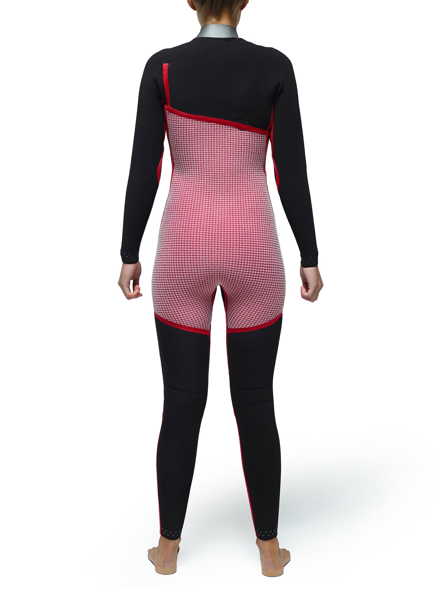 Wetsuit Woman Competition 4/3 Zipperless Black