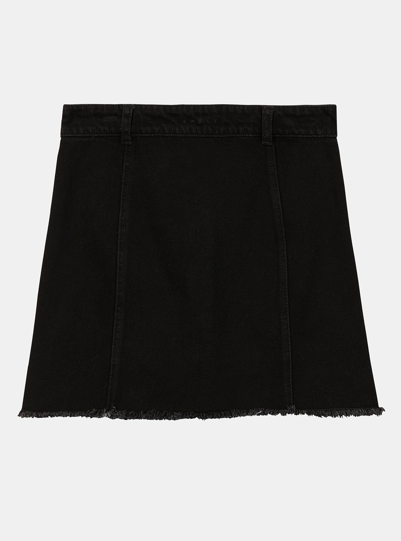 Map Skirt Black