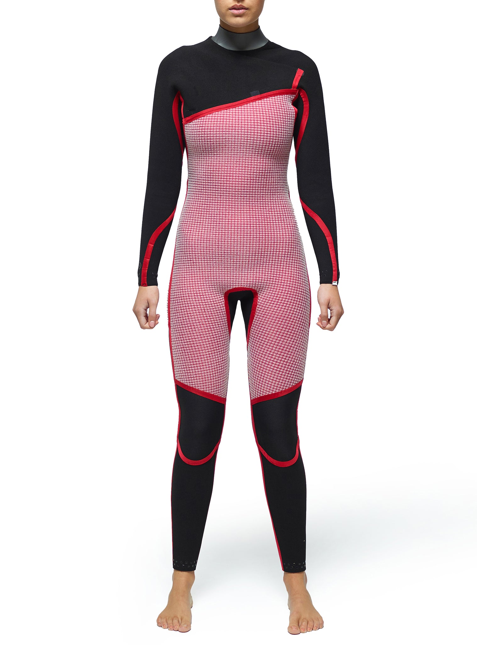 Wetsuit Woman Competition 3/2 Zipperless Grey