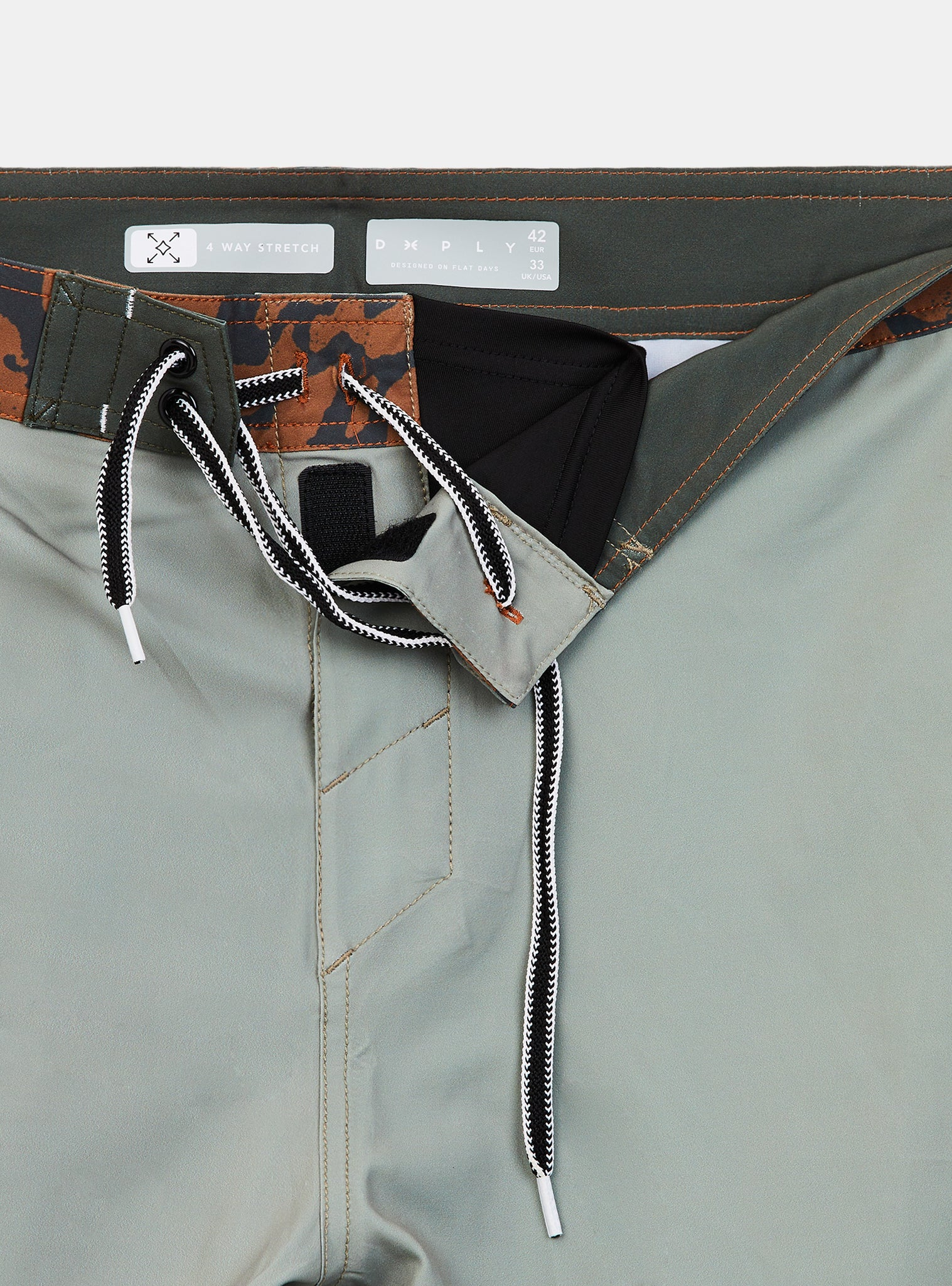 Id Animal Boardshort Beige