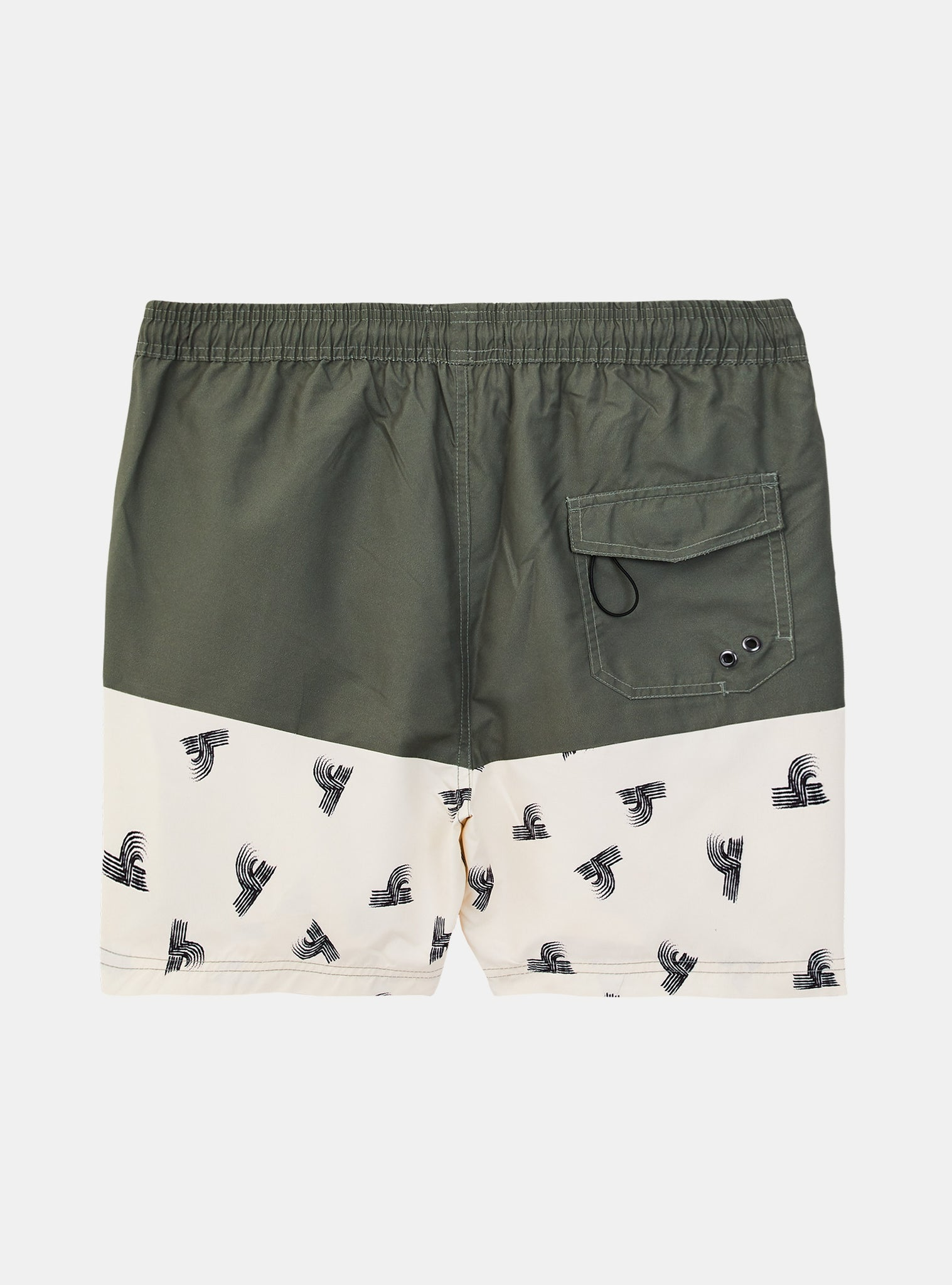 Beach Waves Volley Short Green