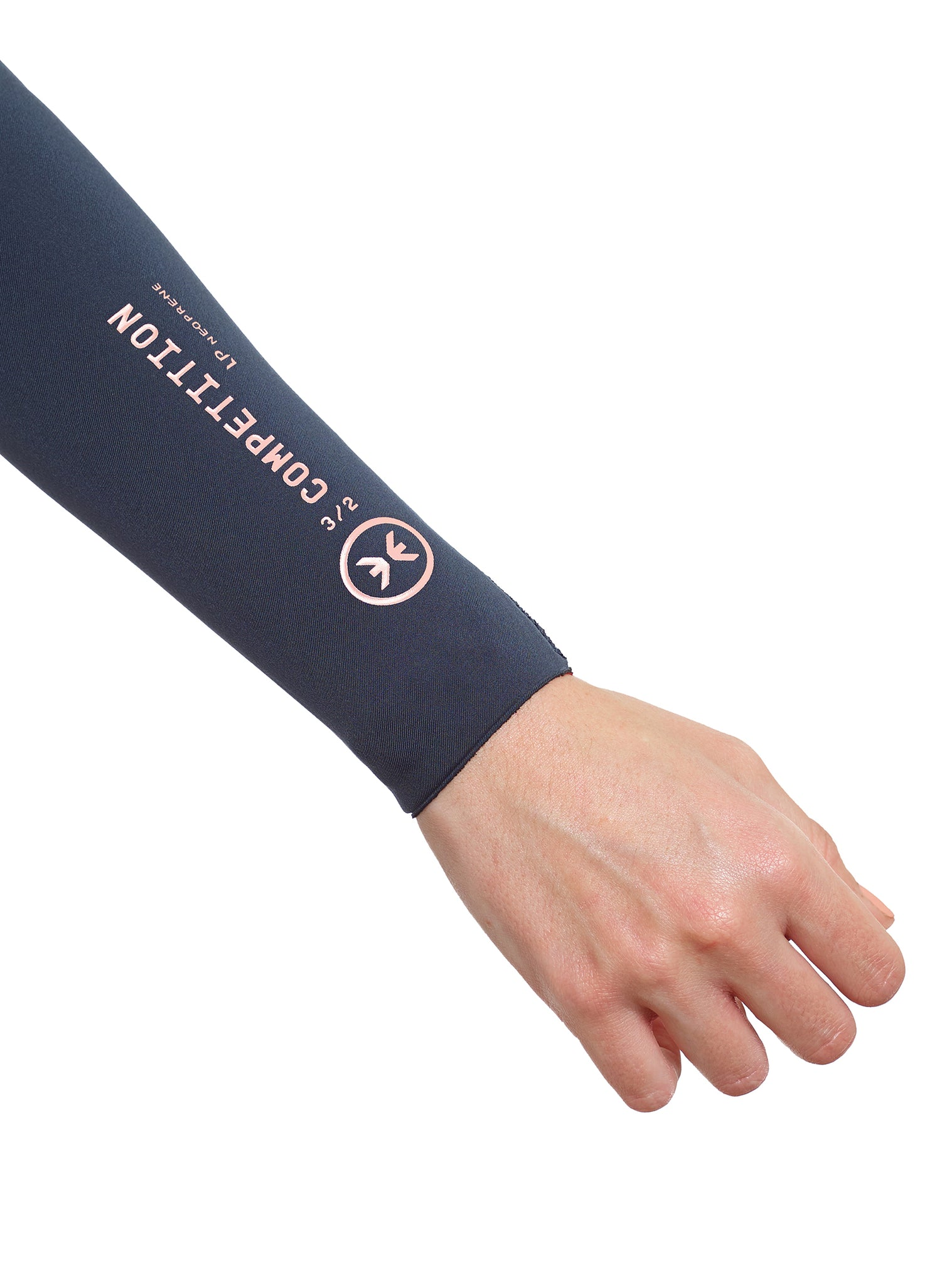 Wetsuit Woman Competition 3/2 Zipperless Petrol Blue