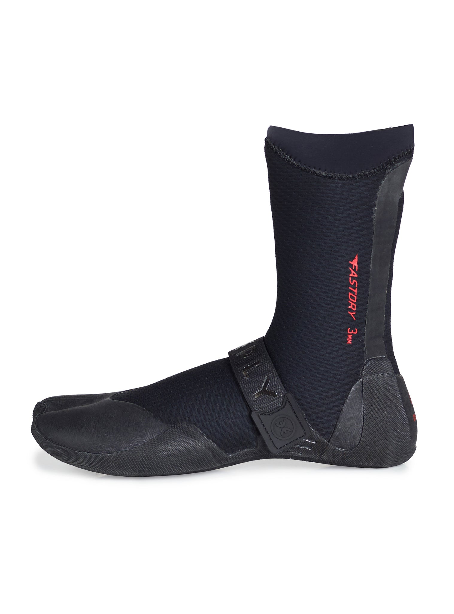 3mm Fastdry Surf Boots Black