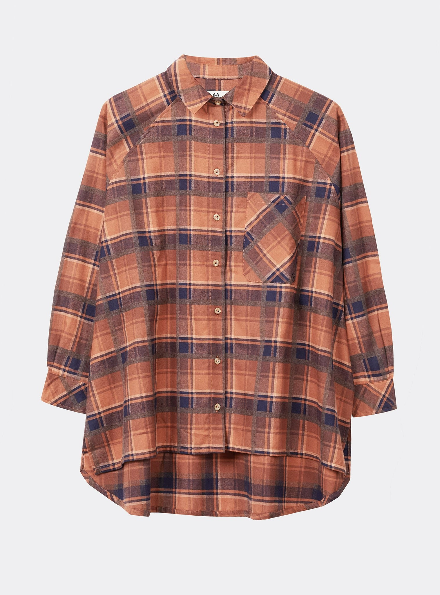 Brownie Shirt Longsleeve Orange