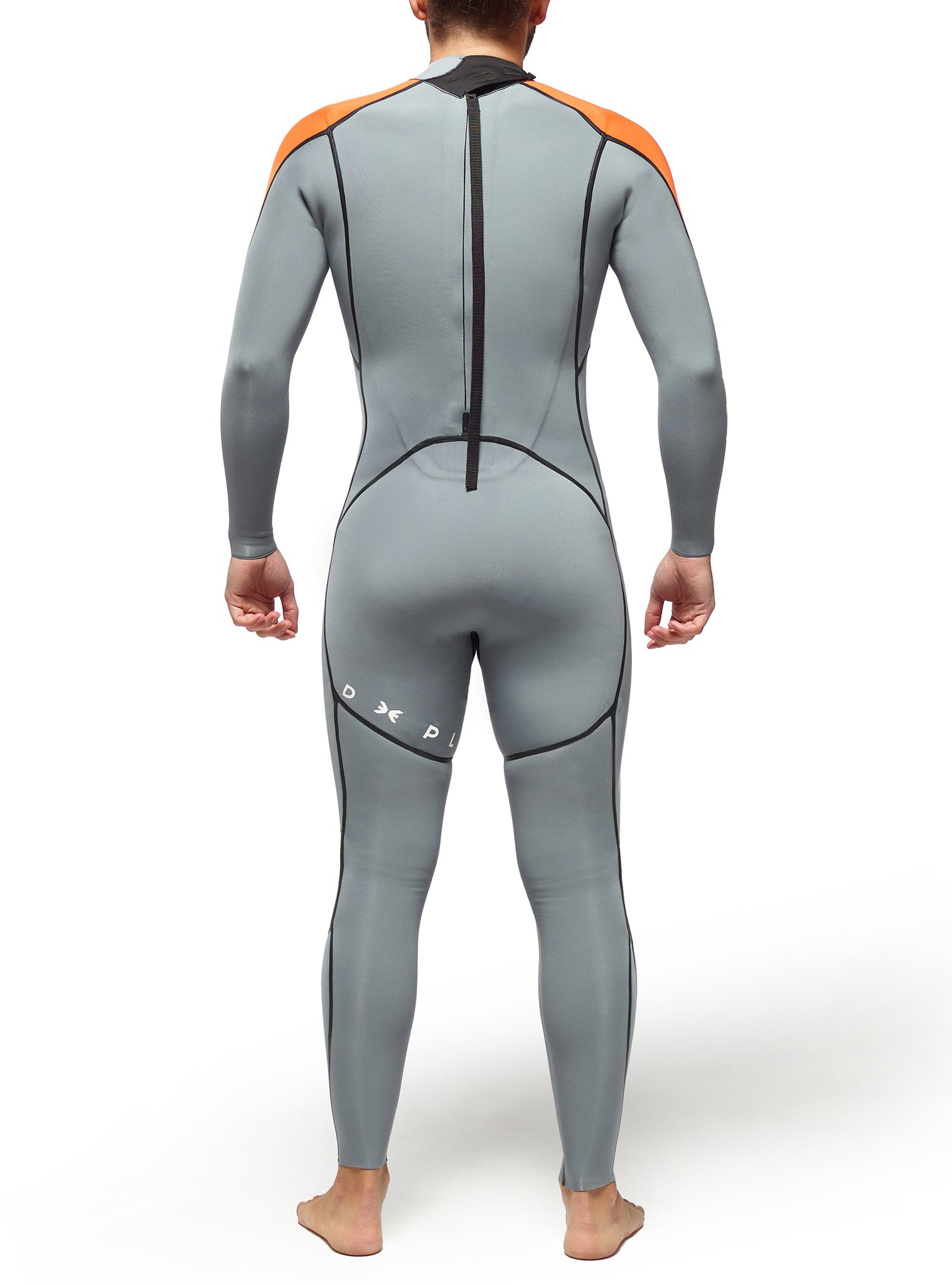 Wetsuit Man Performance 3/2 Back Zip Dark Grey