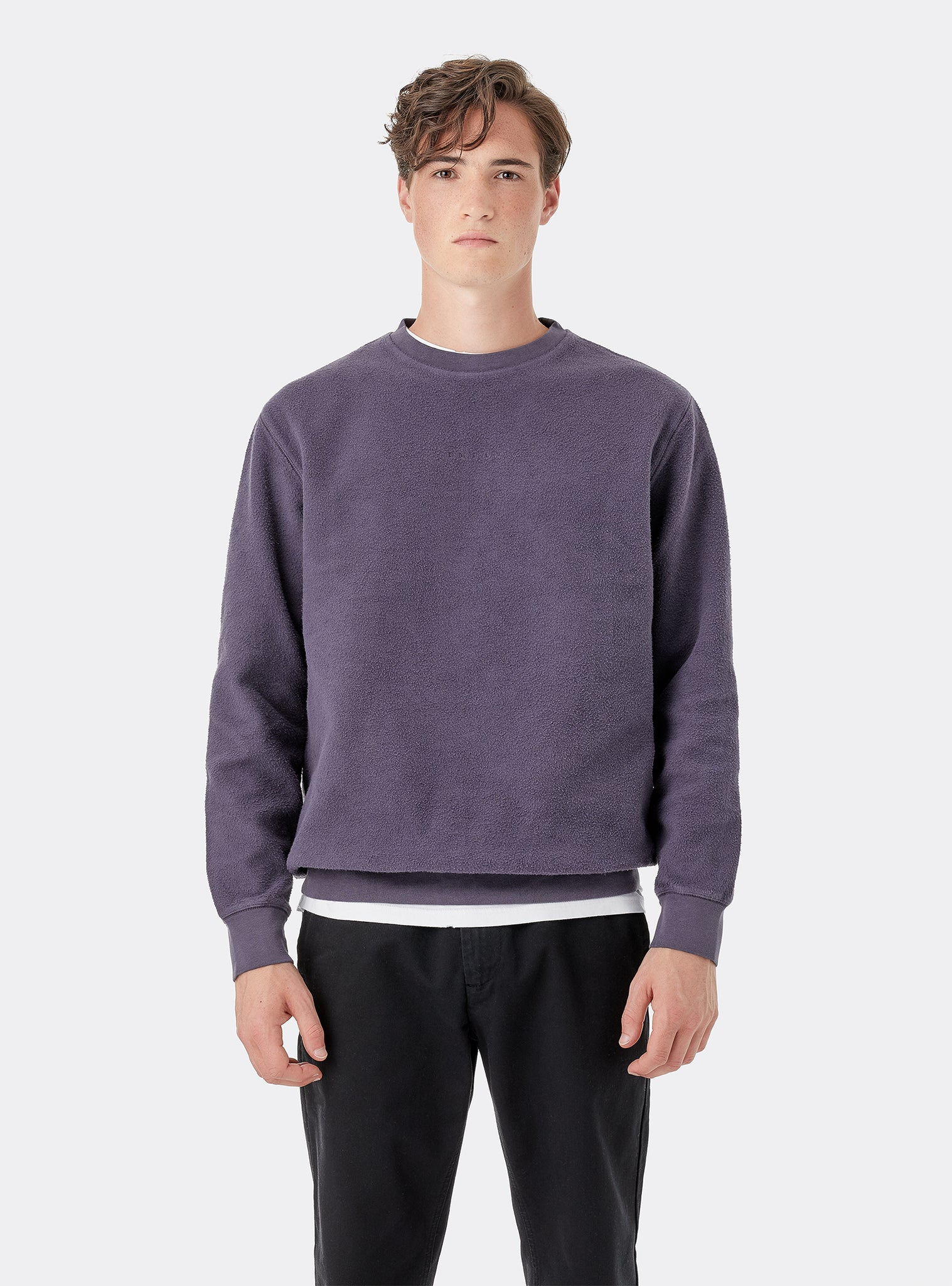 Uncover Sweat Crewneck Purple