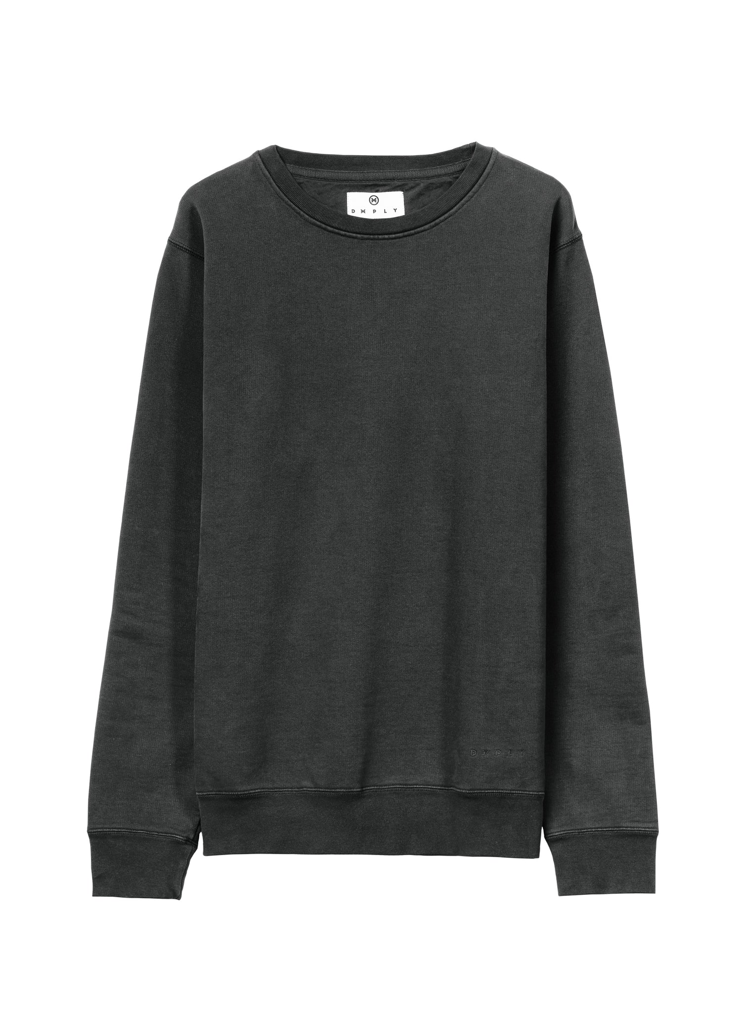 Timeless Crewneck Sweat Crewneck Black