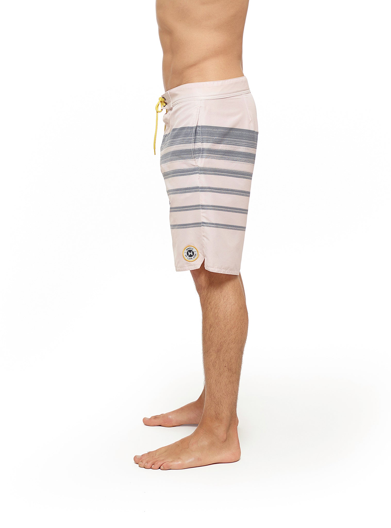 Horizon Stripes Boardshort Beige