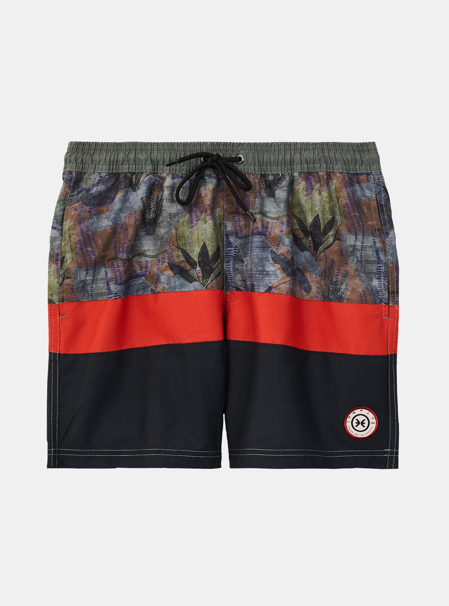 Beach Line Volley Short Black