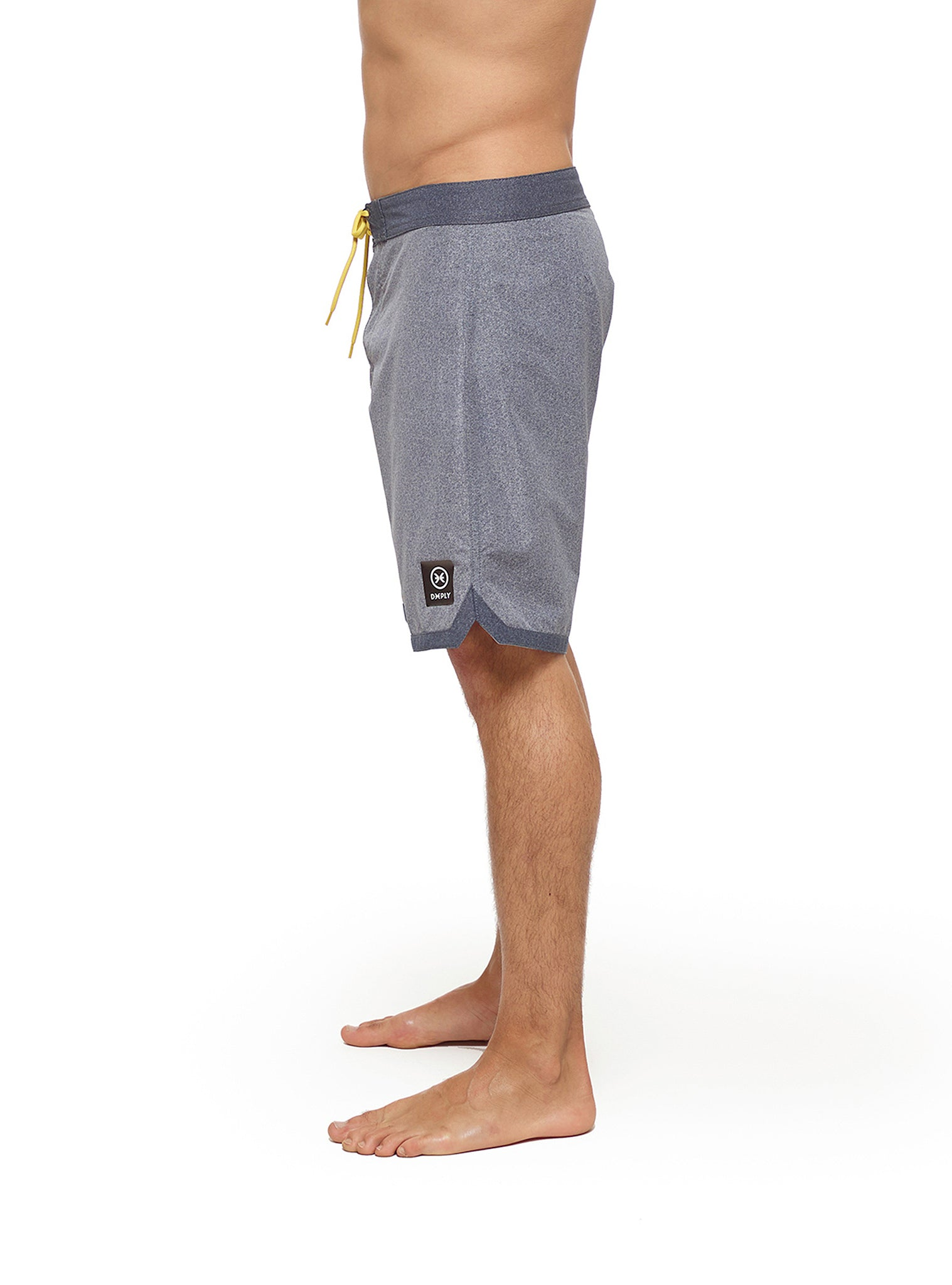 Heather Boardshort Grey