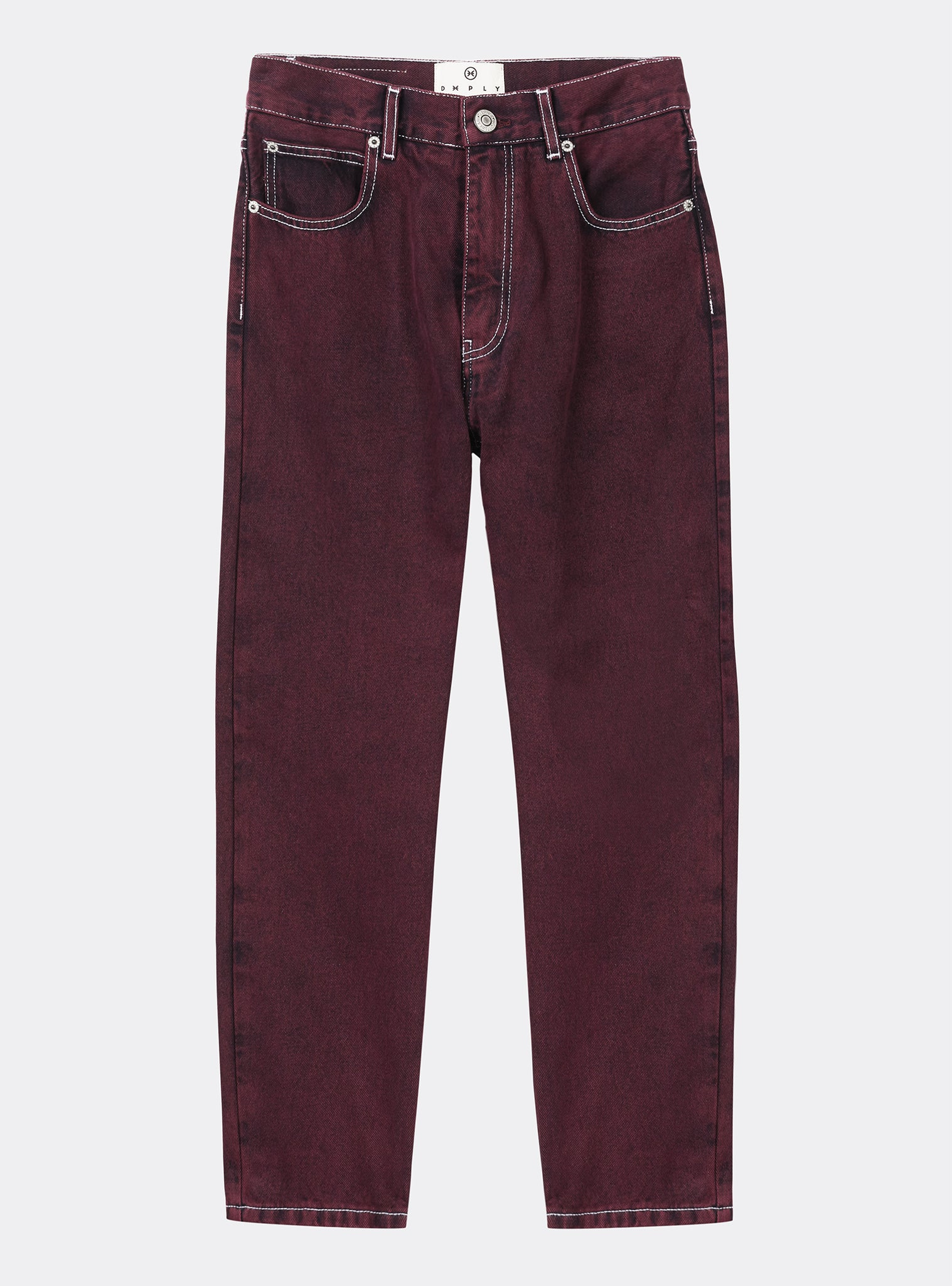 Barrel Pants Red