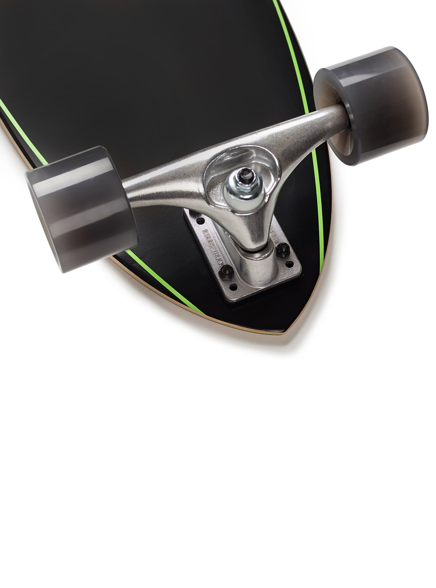 Skate Surfskate Double Flyer Black