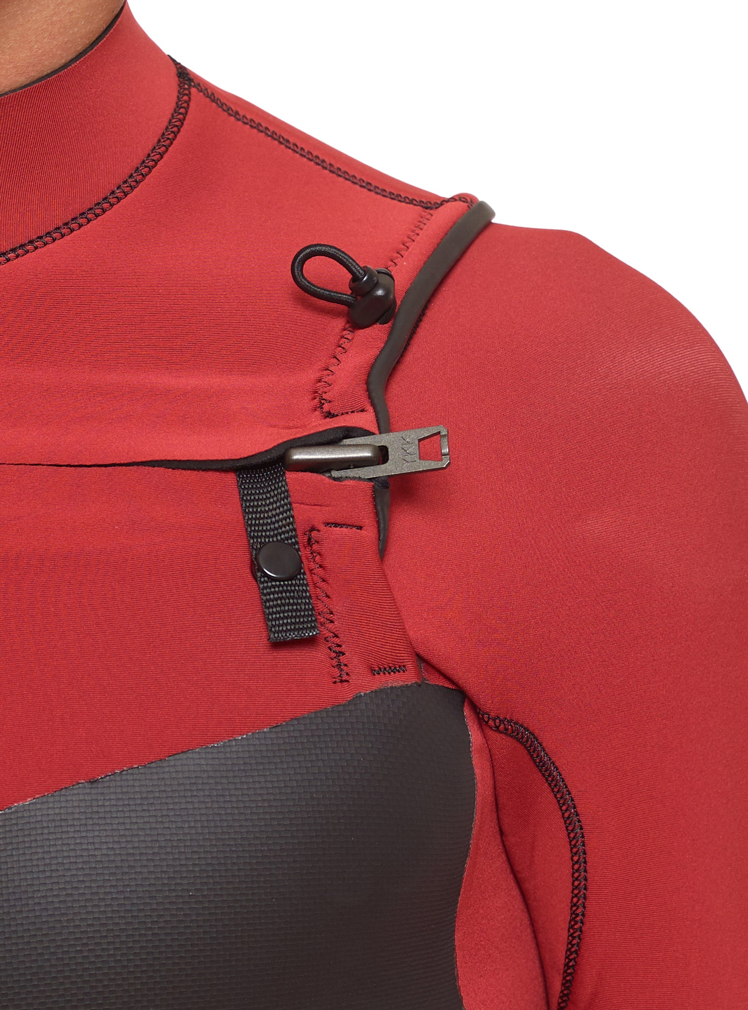 Wetsuit Man Premium 4/3 Chest Zip Grey