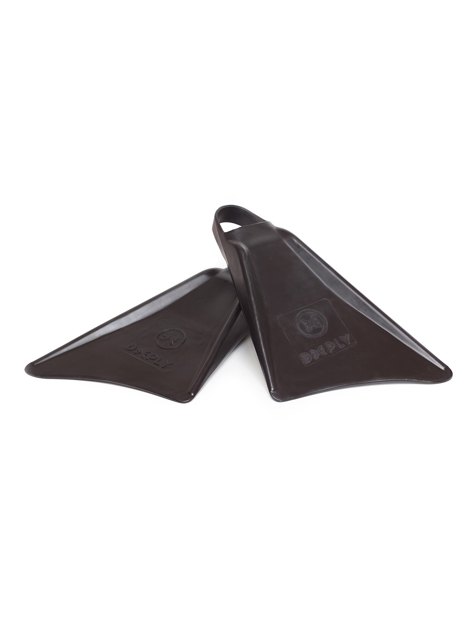 Bodyboard Rubber Fins Black