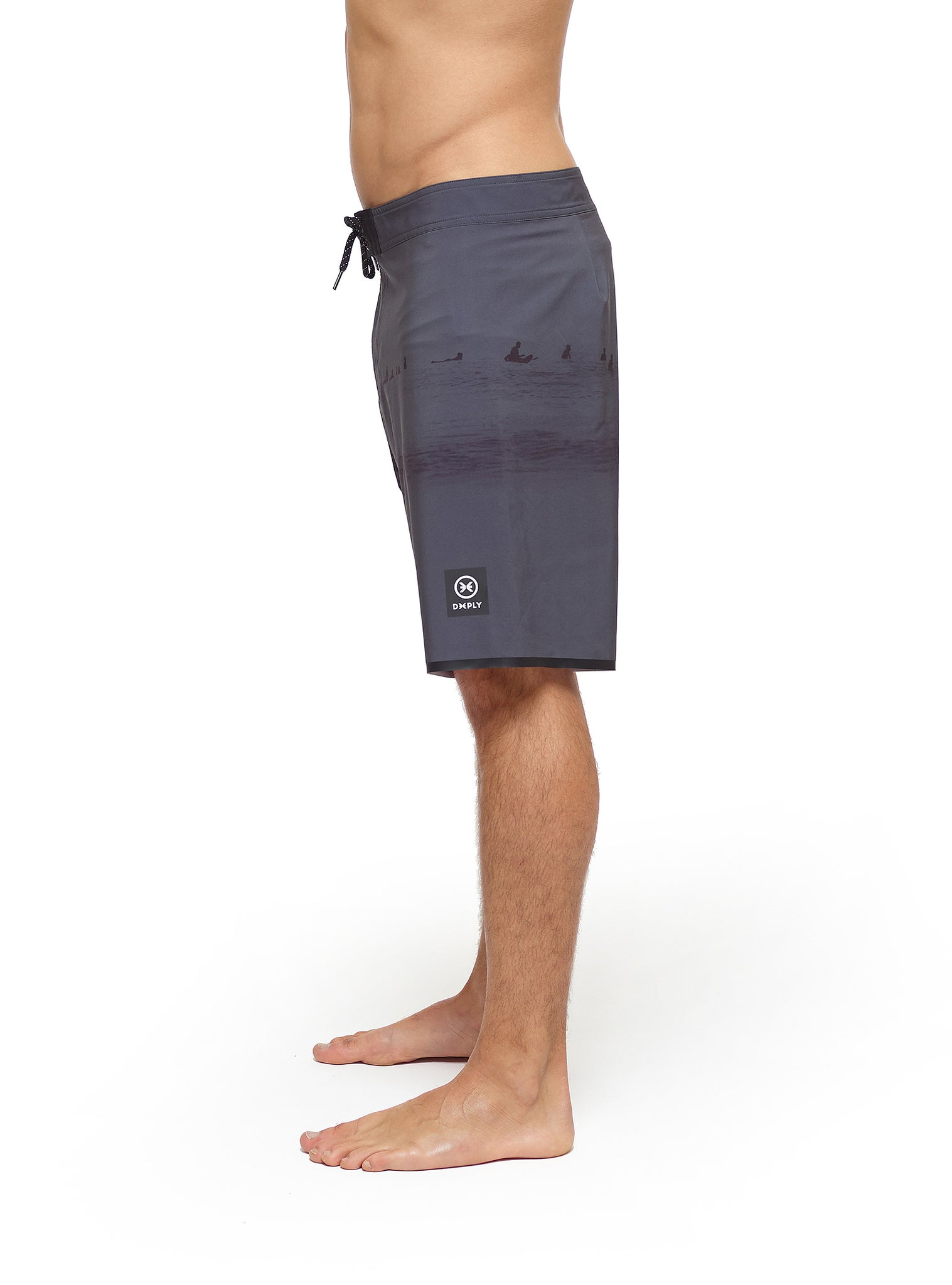 Pyramid Waiting Room Boardshort Black